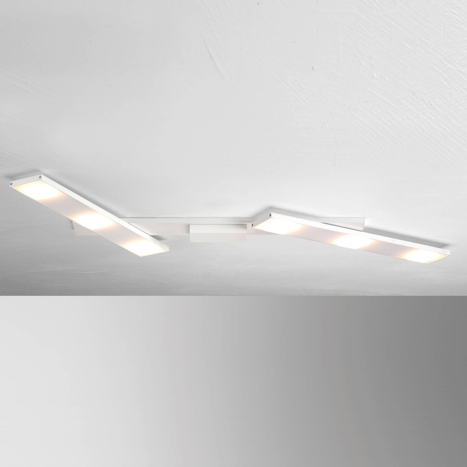 Käännettävä LED-kattovalaisin Slight, valkoinen