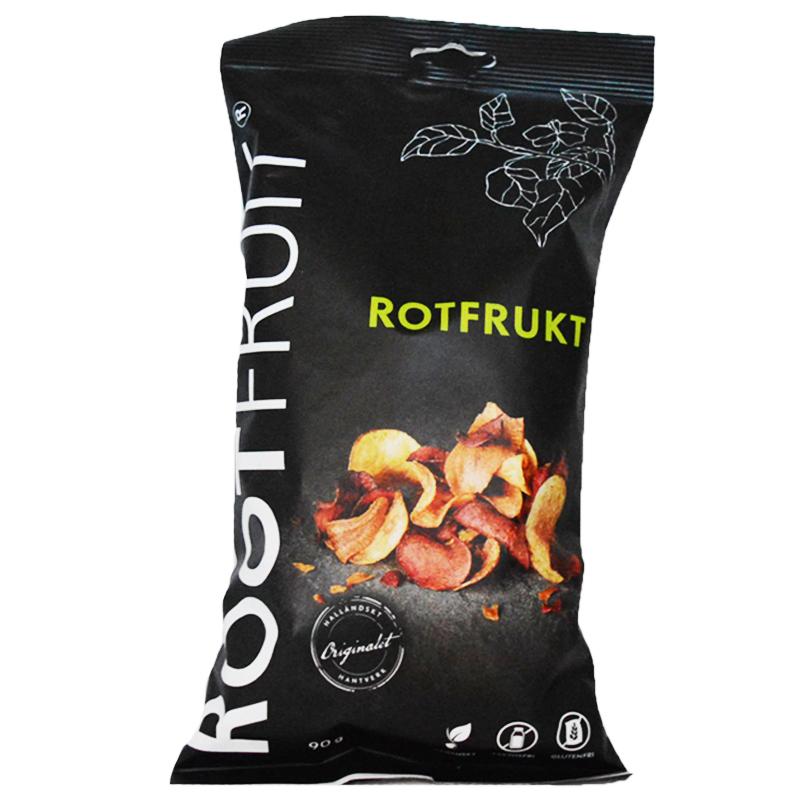 Rotfruktschips 90g - 37% rabatt
