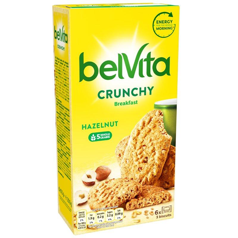 Täysjyväkeksit Crunchy Hazelnut - 43% alennus