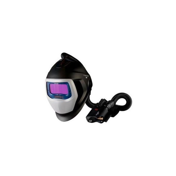 3M Speedglas Black 9100X Sveisehjelm med åndedrettsvern