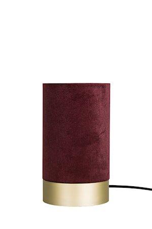 Bordlampe Velvet - Rød