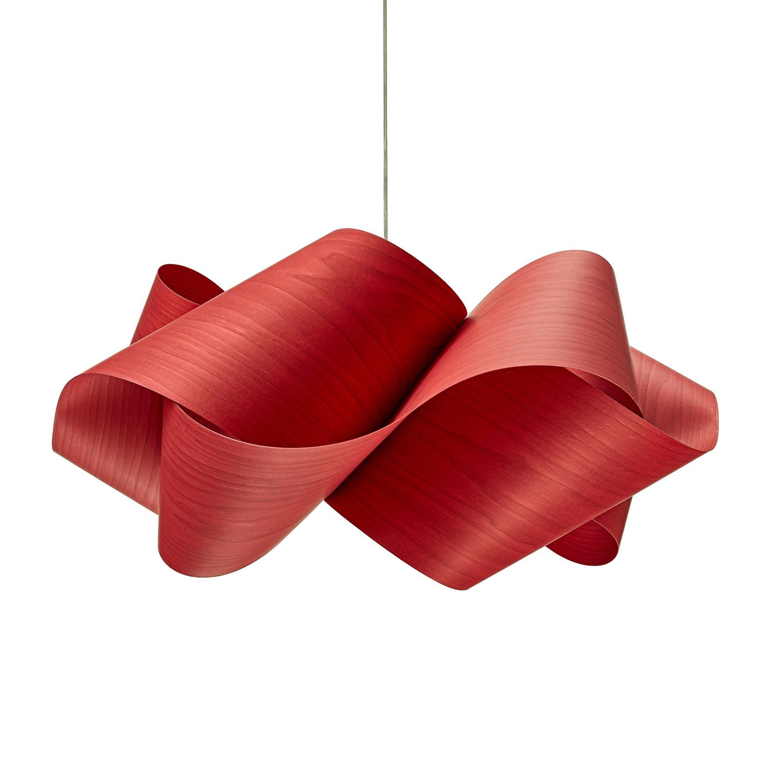 LZF Swirl -riippuvalo Ø 54 cm, punainen