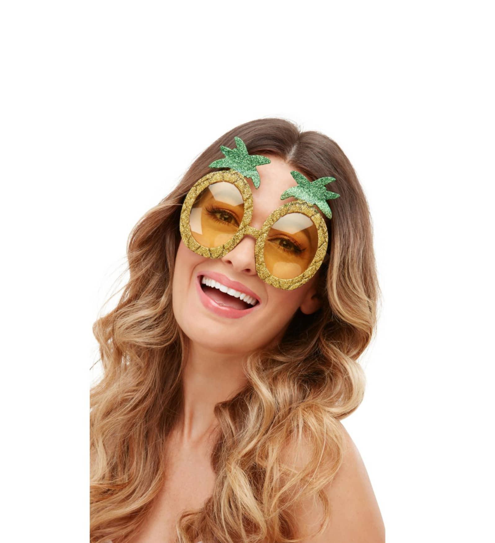 Glasögon ananas
