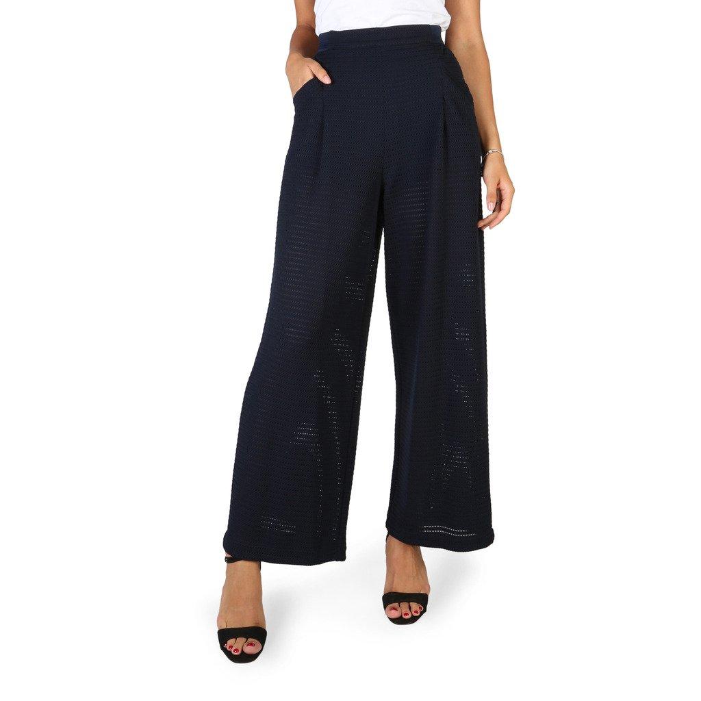 Emporio Armani Women's Trousers Blue 3Y2P1A2J5QZ - blue 42 EU