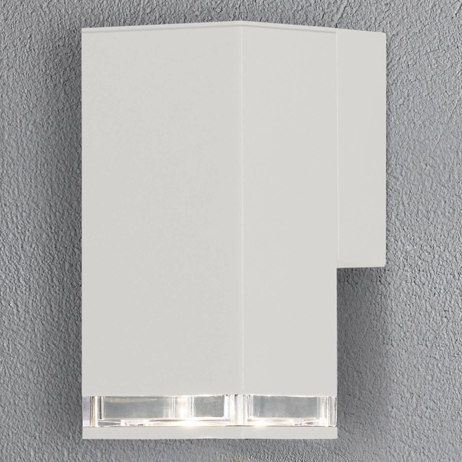 Antares utendørs vegglampe downlight 16,5 cm, hvit