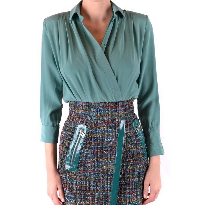 Elisabetta Franchi Women's Shirt Green 166496 - green 38