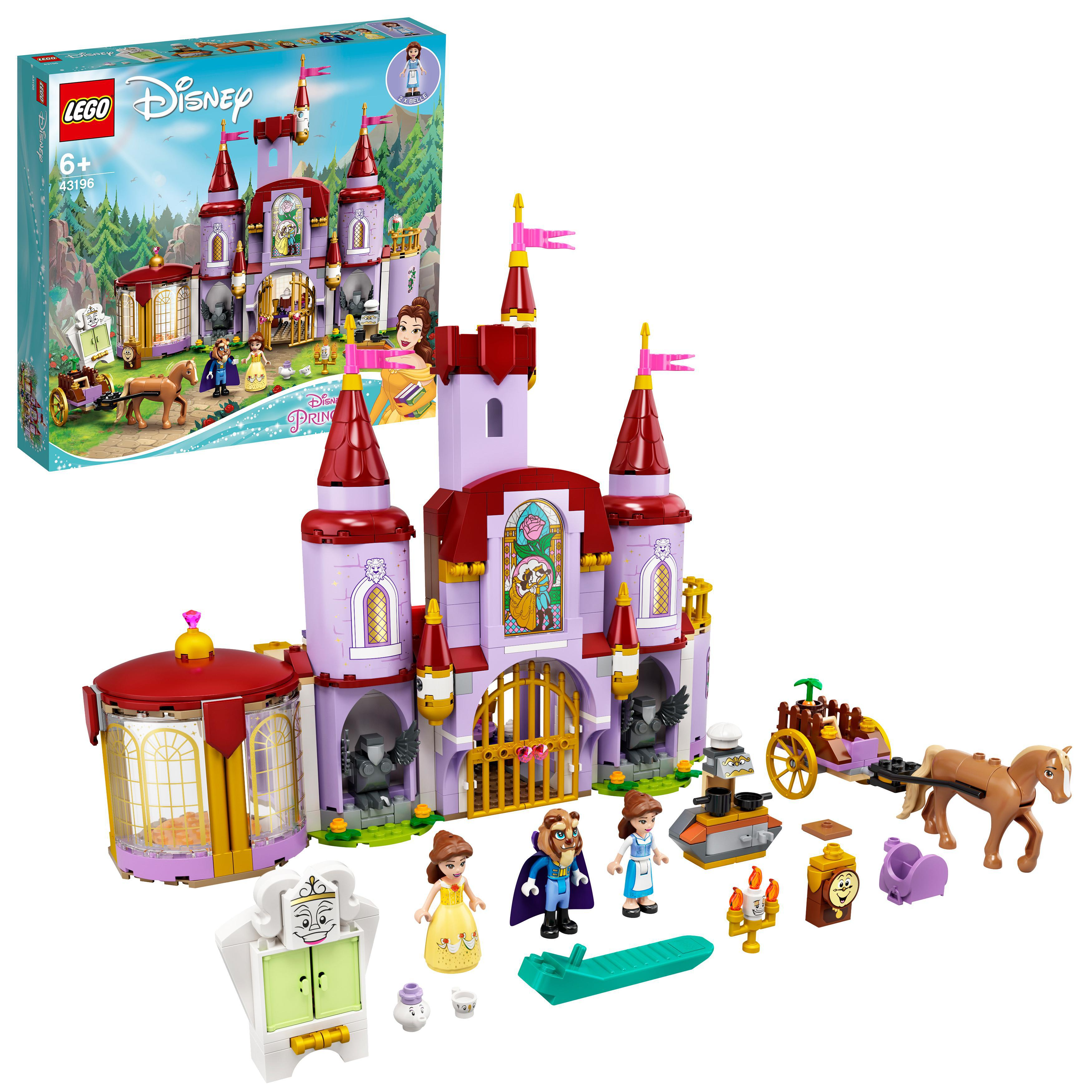 LEGO Disney Princess - Belle and the Beast's Castle (43196)