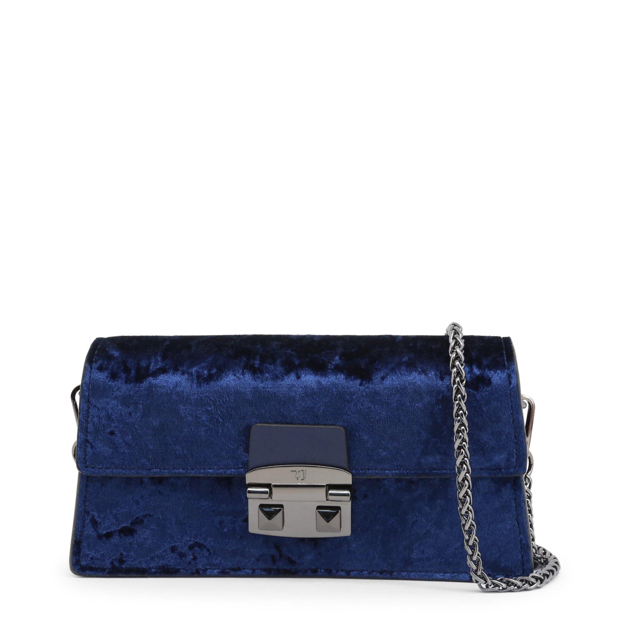 Trussardi Women's Clutch Bag Various Colours CORIANDOLO_75B00554 - blue-1 NOSIZE