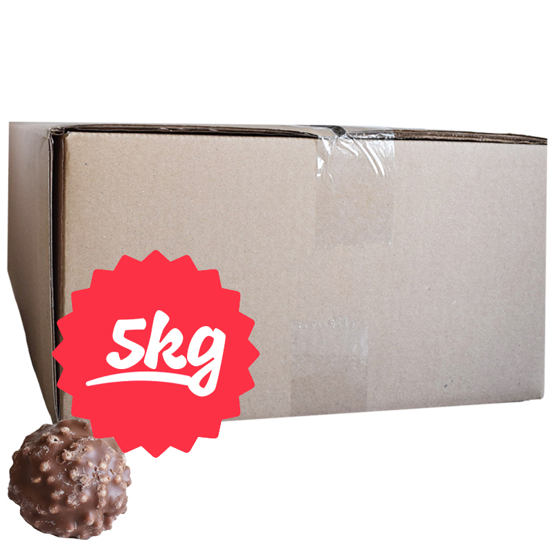 Hel Låda Godis Chokladglaserade Marshmallows 5kg - 51% rabatt