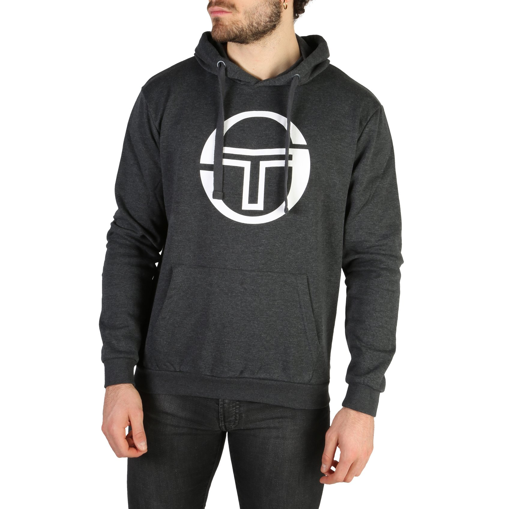 Sergio Tacchini Men's Sweatshirt Various Colours 103-10003 - grey-1 S