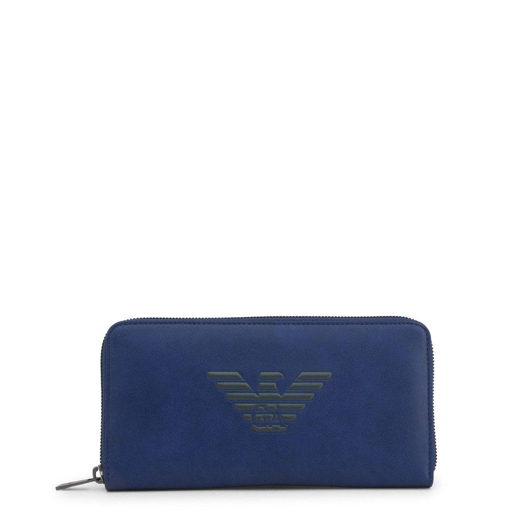 Emporio Armani Men's Wallet Blue Y4R169_YG90 - blue NOSIZE