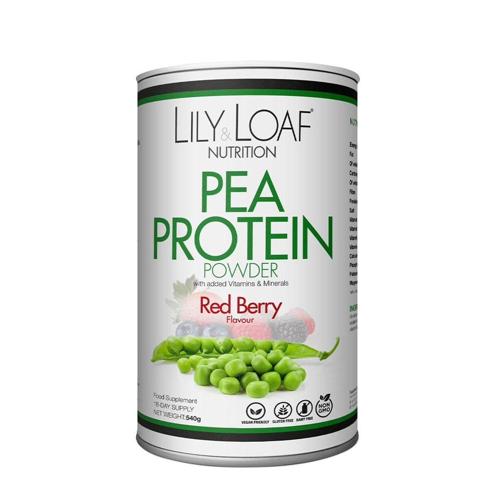 Red Berry Pea Protein Powder (540g)