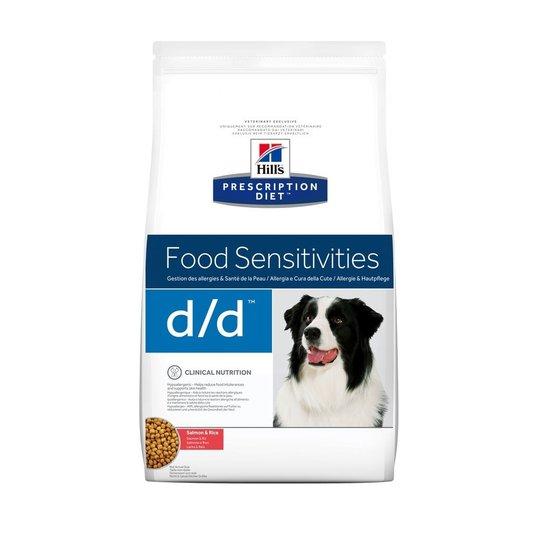 Hill's Prescription Diet Canine d/d Food Sensitivities Salmon & Rice (2 kg)