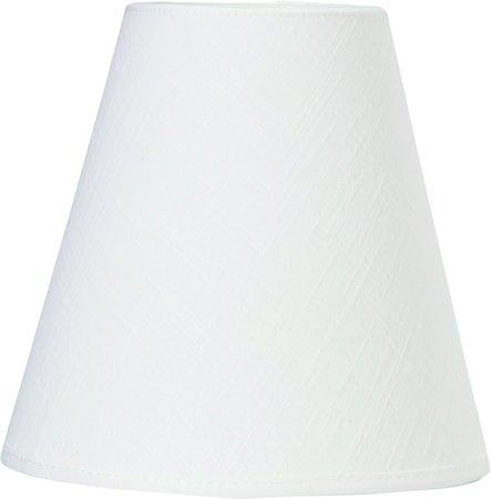 Toppringskjerm E14 Franza Hvit 15 cm