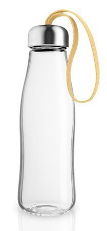 Drikkeflaske glass 0,5 l Lemon