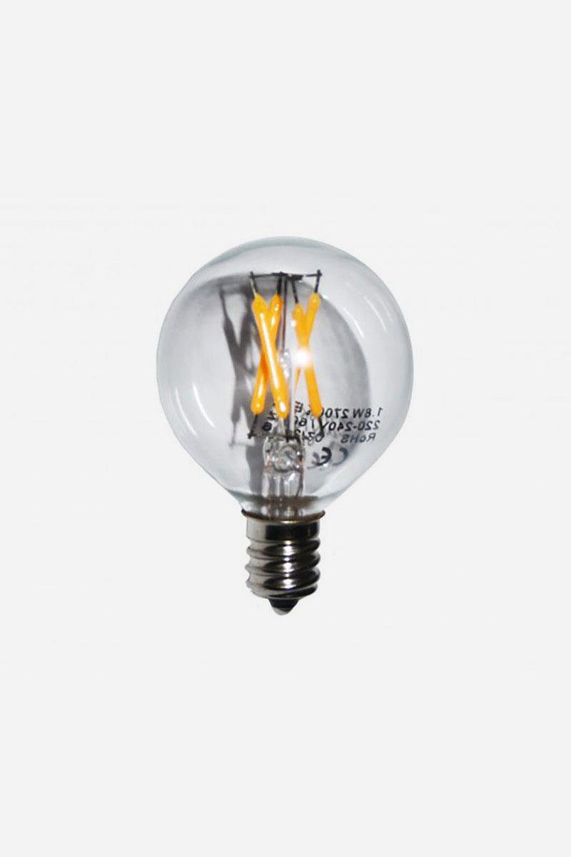 Ljuskälla till bordslampa Mus Vit