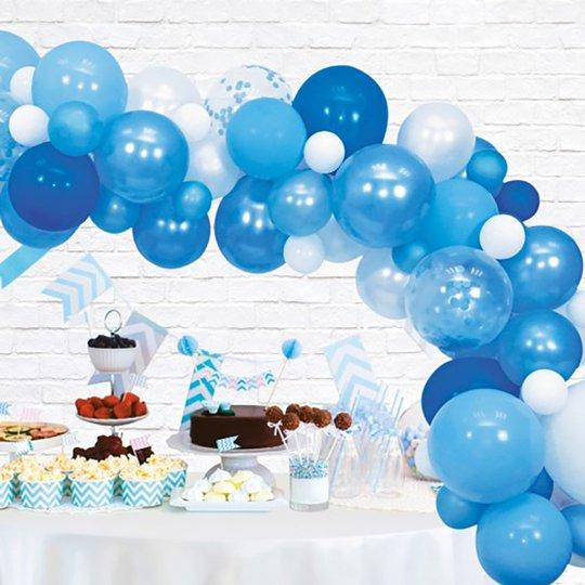 Ballongbåge Blue Party