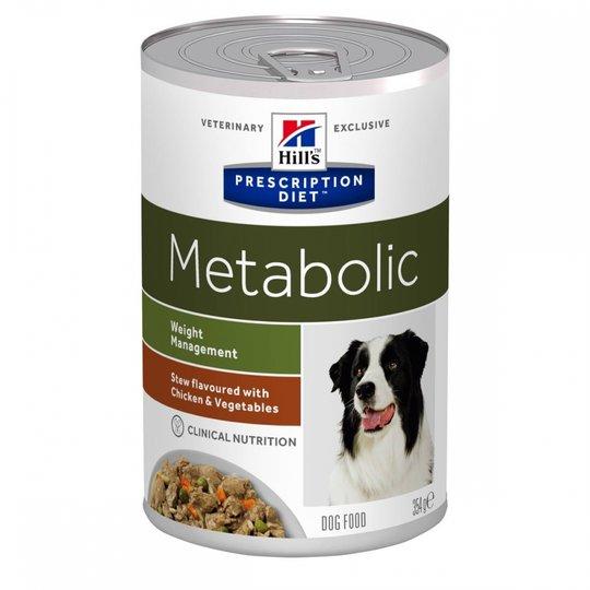 Hill's Prescription Diet Canine Metabolic Weight Management Stew Chicken & Vegetables 354 g