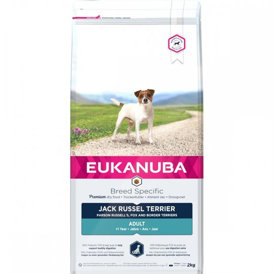 Eukanuba Dog Breed Specific Jack Russel 2 kg