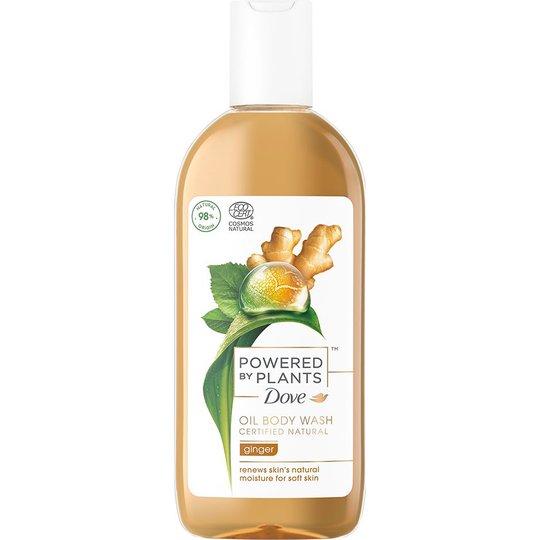 Body Oil Wash Ginger, 250 ml Dove Saippuat