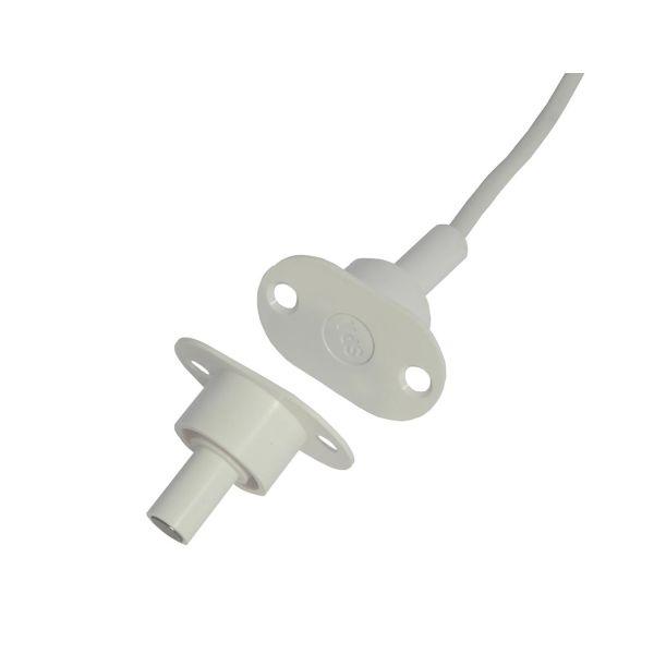 Alarmtech MC 370-S11 Høysikkerhetskontakt 22 mm sensor, innebygd 2 m kabel