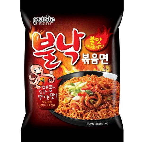 Paldo Bulnak Pan Stirfried Noodle Spicy