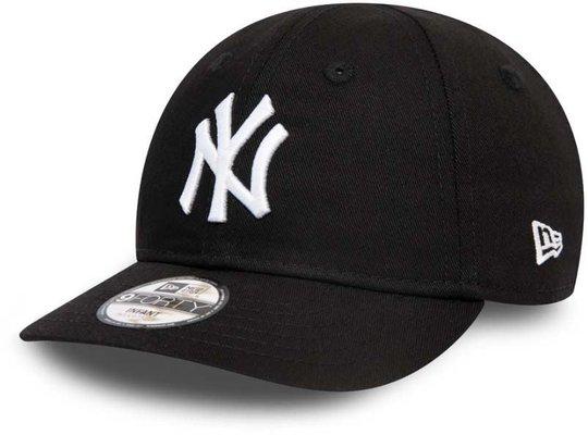 New Era NYY League Essential Infant 940 Kaps, Black White, 0-2 år