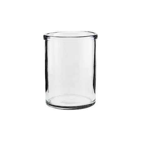 Reem Vase Glass 20cm