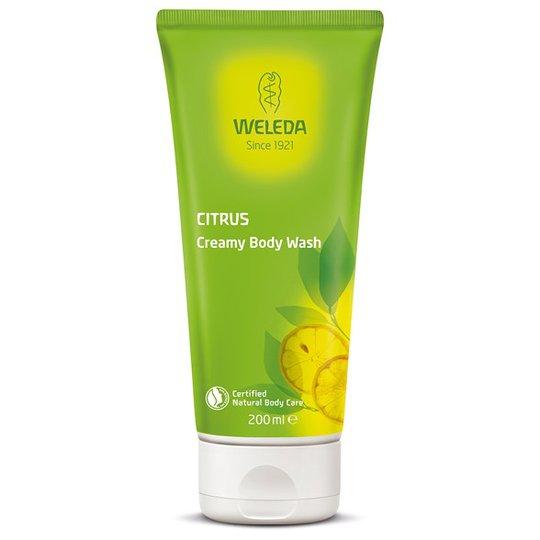 Weleda Citrus Creamy Body Wash, 200 ml