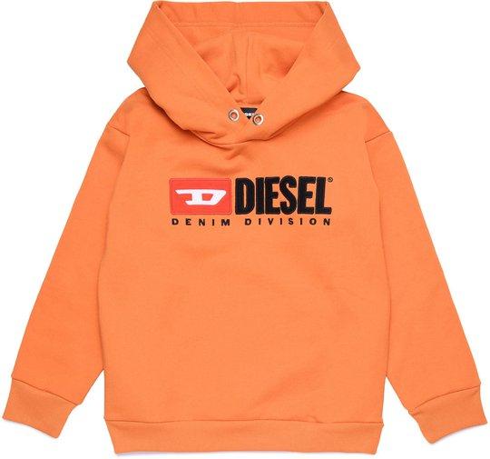 Diesel Sdivision Sweatshirt, Harvest Pumpkin 10 År