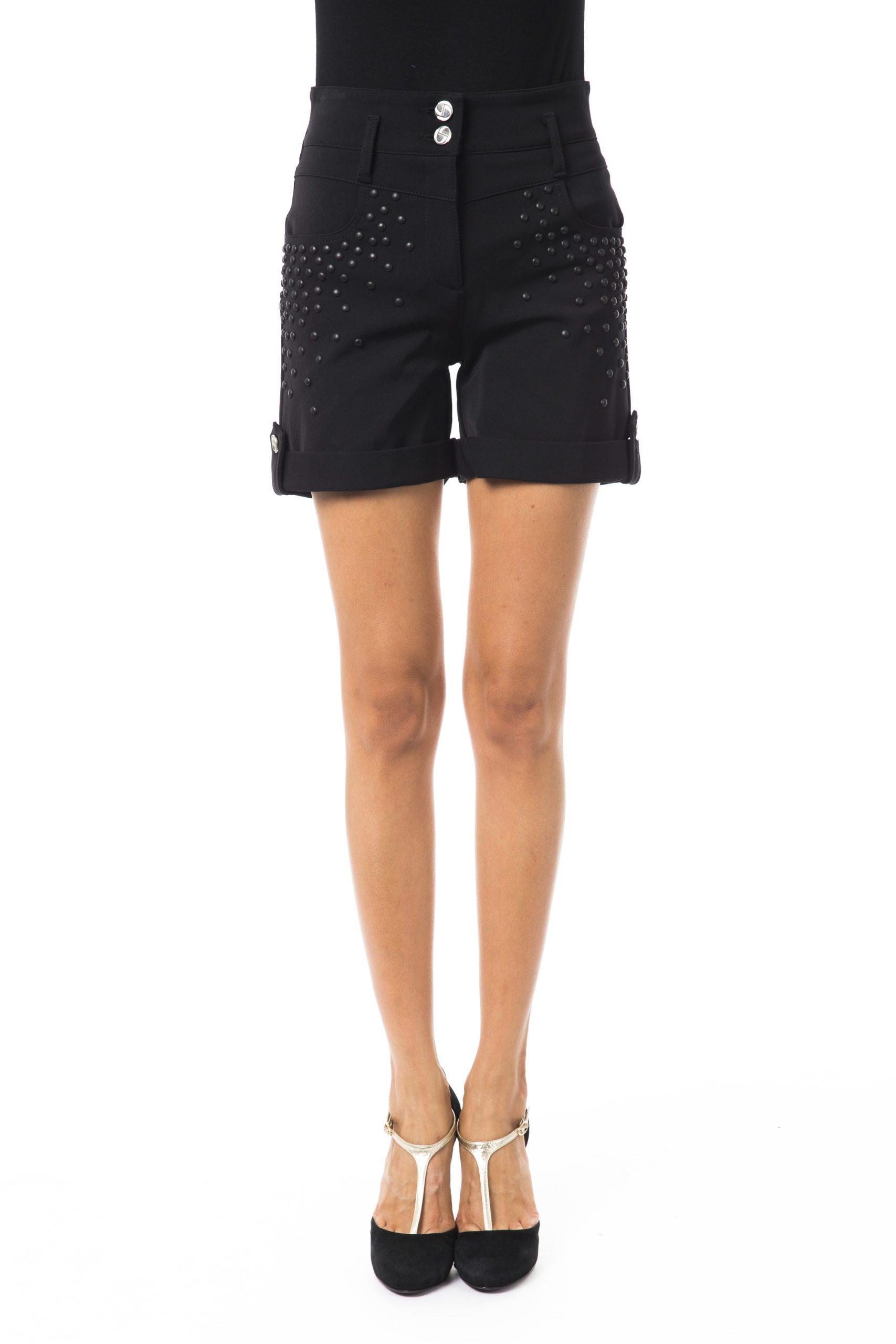 BYBLOS Women's Nero Short Black BY1263672 - IT42 | S