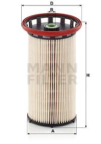 Polttoainesuodatin MANN-FILTER PU 8028