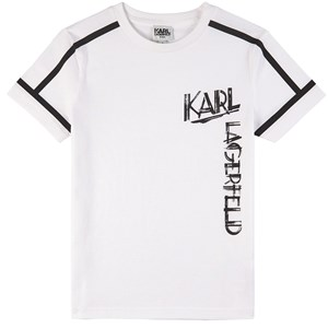 Karl Lagerfeld Kids Logo Print T-shirt Vit 5 år