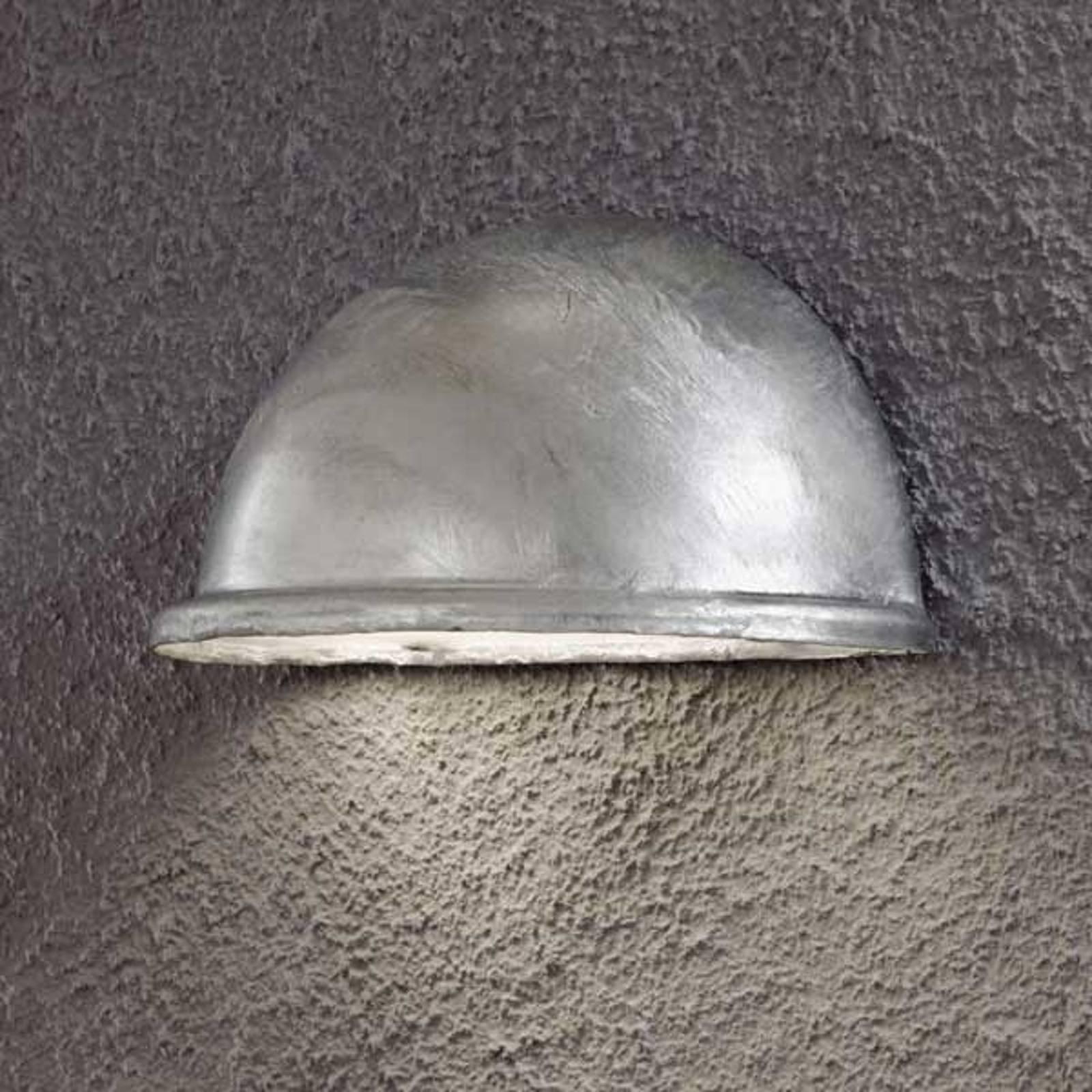 Vakker galvanisert utendørs TORINO E14 vegglampe