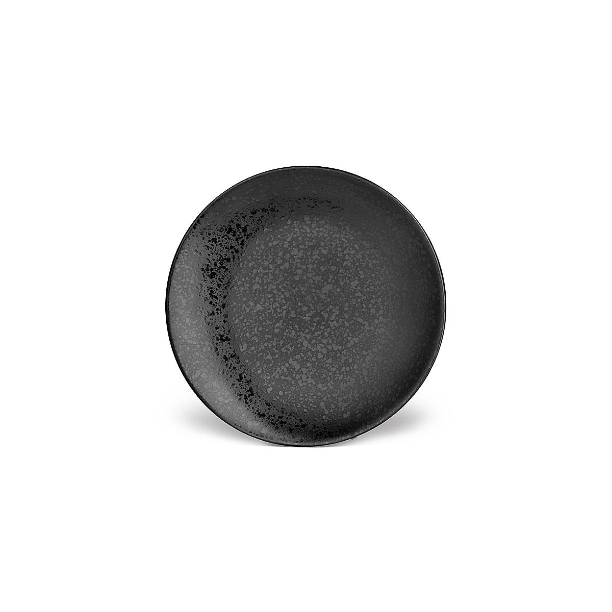 L'Objet I Alchimie Dessert Plate Black