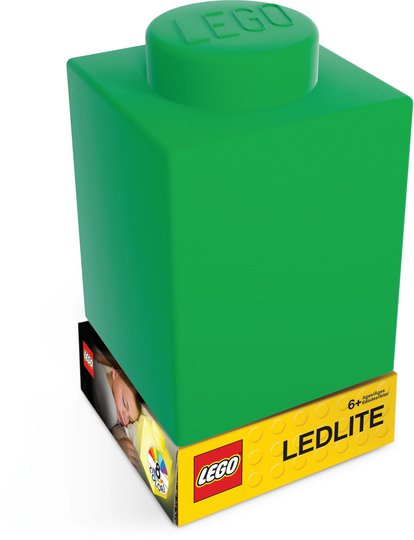 LEGO Classic Silicone Brick Lampe, Grønn