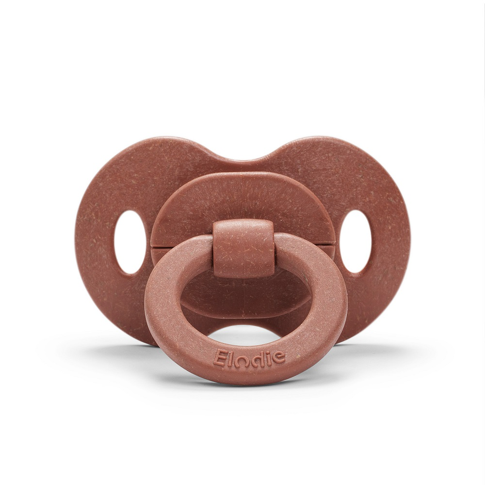 Bamboo Soother Natural Rubber 3+ months - Burned Clay
