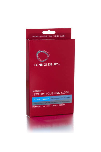 Connoisseurs Silver Jewelry Polishing Cloth 739