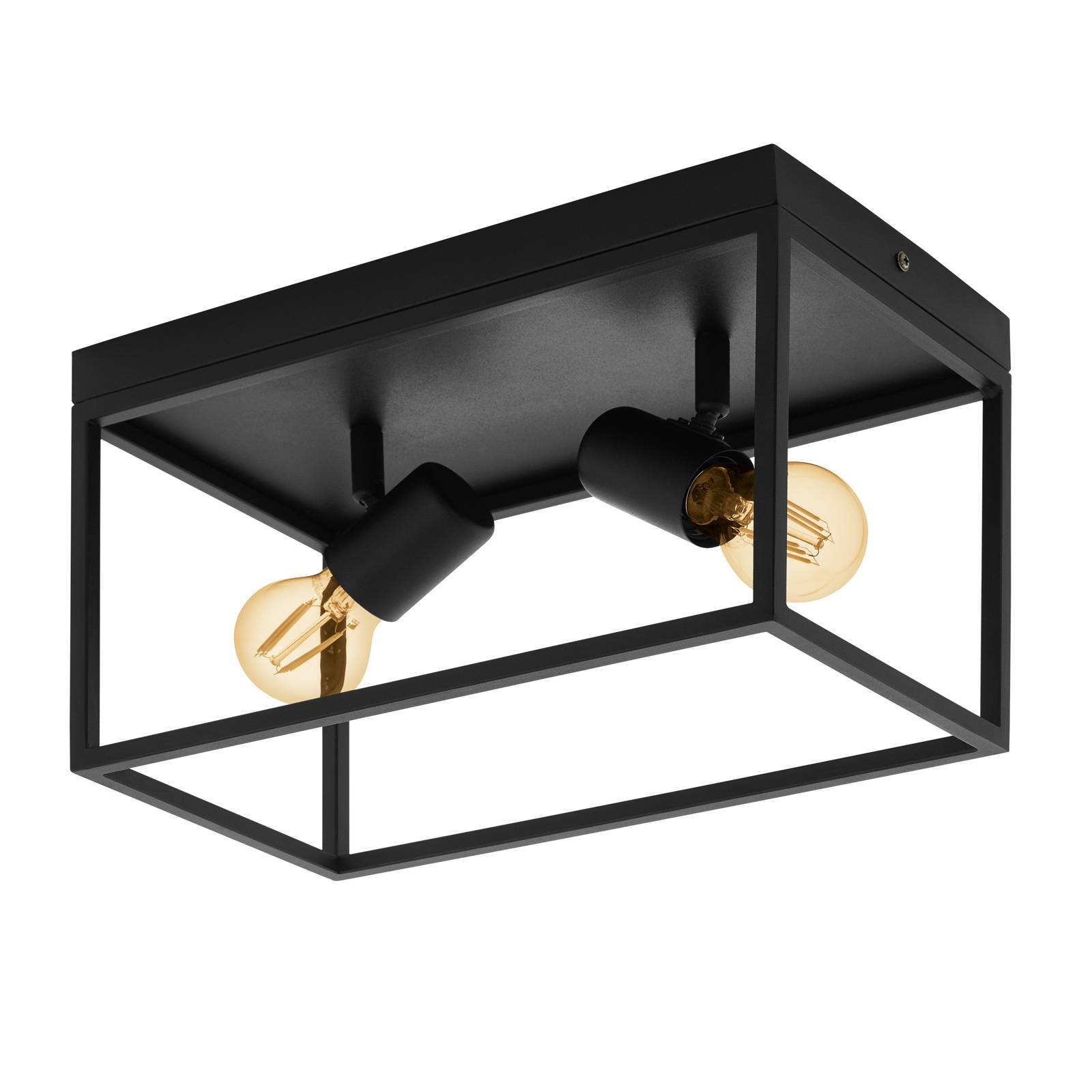 Kattovalaisin Silentina, 2-lamppuinen, 36 x 18 cm