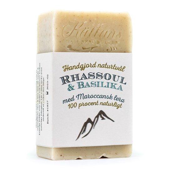 Källans Naturprodukter Naturtvål Rhassoul & Basilika, 95 g