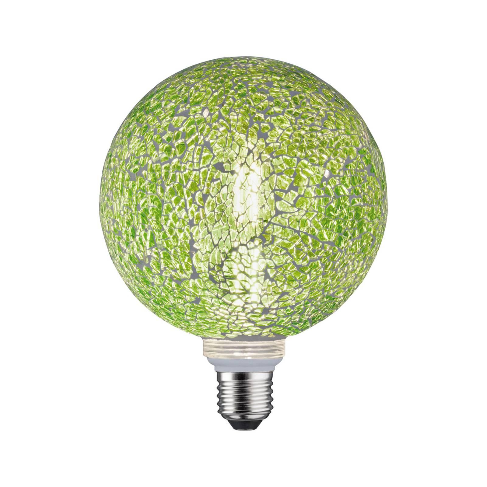 Paulmann E27 LED-Globe 5W Miracle Mosaic vihreä