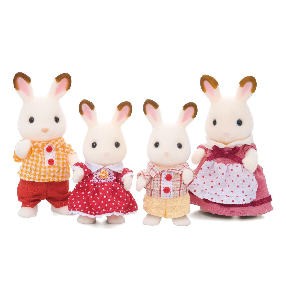 Sylvanian Families - Chocolate Rabbit Familiy (4150)