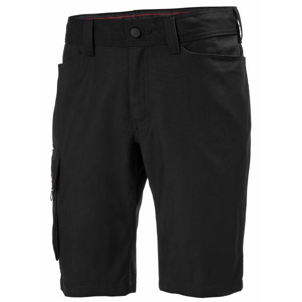 Helly Hansen Workwear Oxford Shortsit musta C44