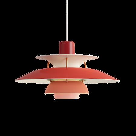 PH 5 Mini Pendel - Röd