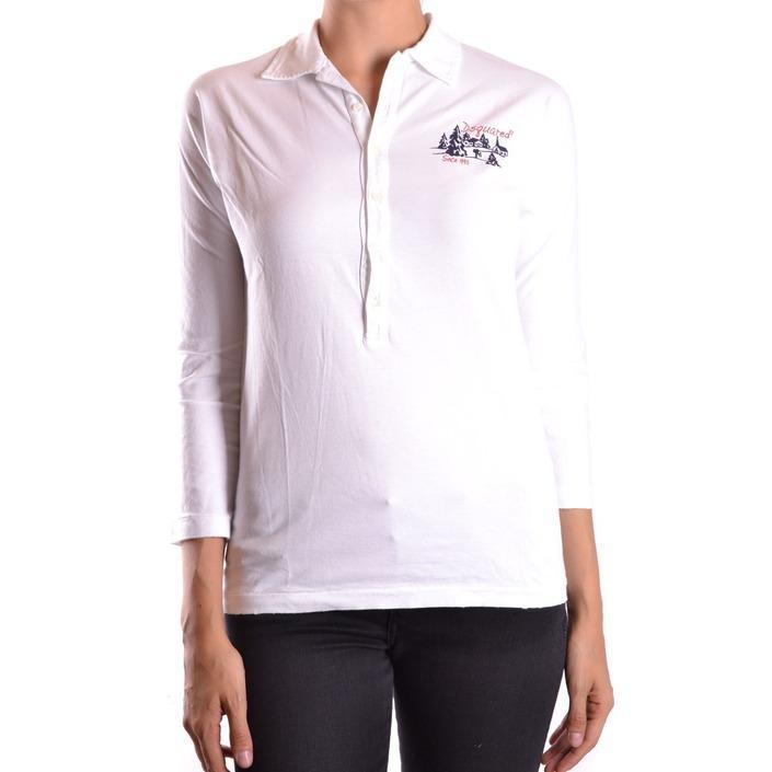 Dsquared Women's Polo Shirt White 186947 - white XS
