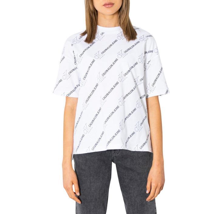 Calvin Klein Jeans Women T-Shirt White 299956 - white XS