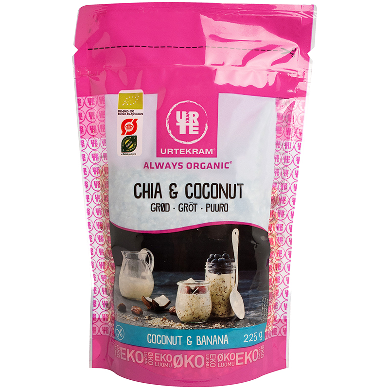 "Gröt ""Chia & Coconut"" 225g - 27% rabatt"
