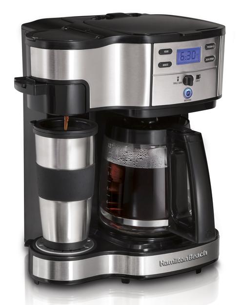 Hamilton Beach 49980-sc Kaffebryggare - Svart