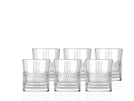 Whiskyglas Brillante 34 cl 6-pack