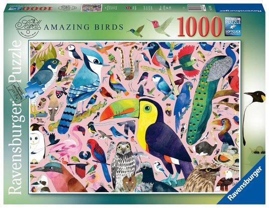 Ravensburger Puslespill Fantastiske Fugler 1000 Brikker